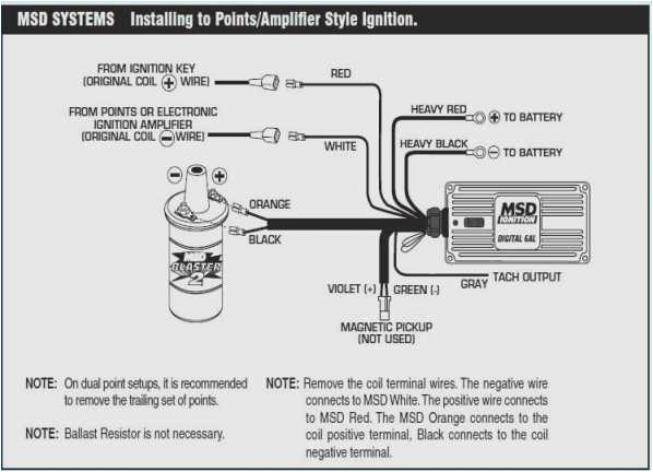 msd 6a wiring diagram chevy wiring diagram repair guides msd 6a wiring diagram ford msd 6