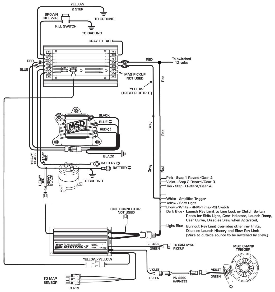 msd module wiring diagram wiring diagram centre msd rpm module wire diagram 3 stage