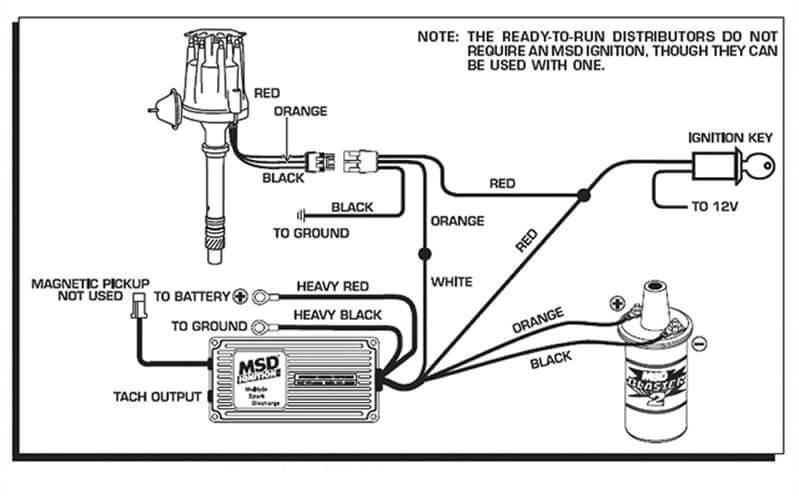 Msd6aln Wiring Diagram Ballast Resistor Wiring Wiring Diagram