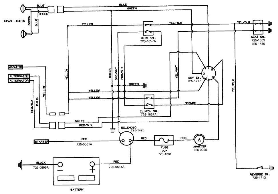mtd wiring diagram model 13as679g062 wiring diagram name mtd wireing harness diagram