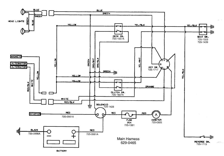 mtd wiring diagram wiring diagram user mtd wireing harness diagram