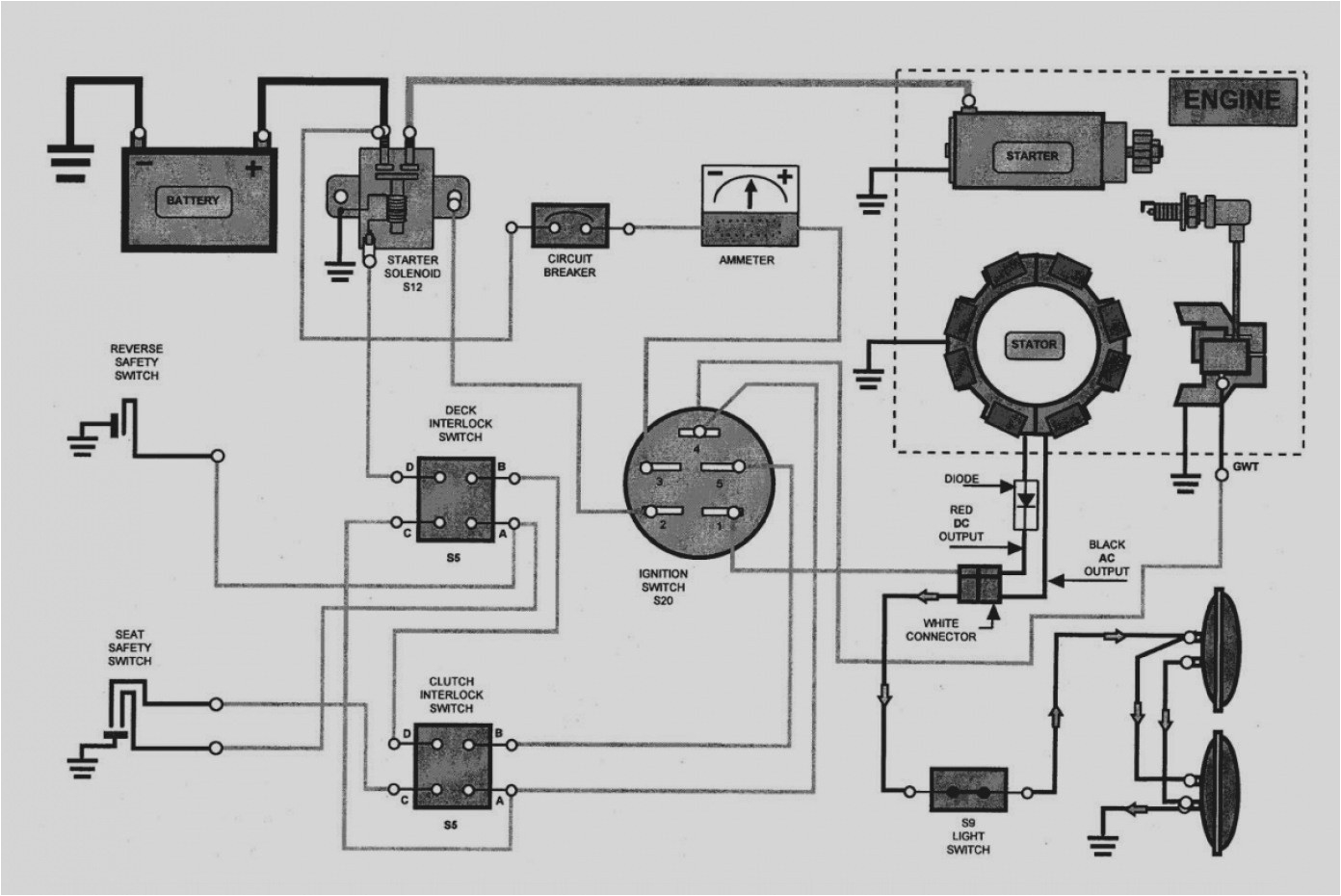riding mower wire diagram wiring diagram toolboxmtd electrical diagram wiring diagram used murray riding mower electrical