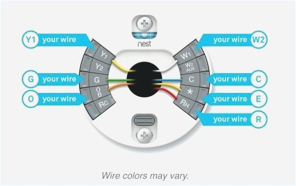 nest thermostat wiring diagram beautiful nest thermostat 2wire wiring house wiring diagram symbols