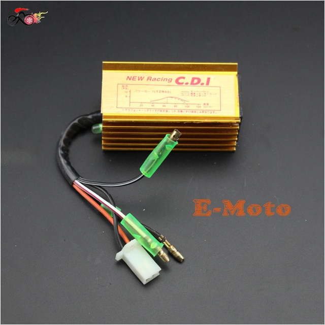 high performance racing cdi box ignition for yamaha jog scooter moped 2 stroke 50cc 90cc 1pe40qmb quads new e moto