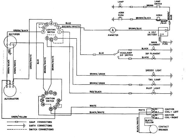 tr6 wiring diagram 1964 triumph wire schematictr6 wiring diagram 2