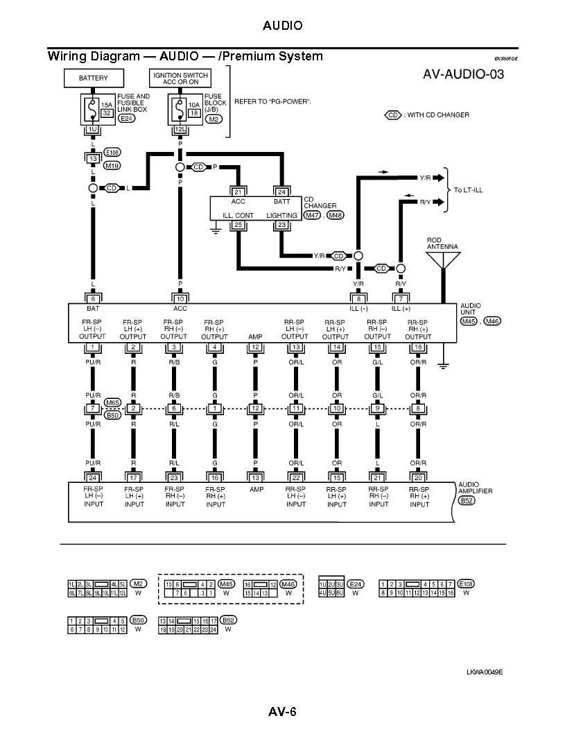Nissan Sentra Radio Wiring Diagram Nissan Sentra Radio Wiring Harness Diagram Nissan Sentra Aux In Pin
