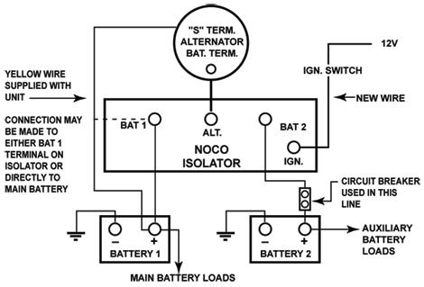 noco battery isolator wiring diagramnoco wiring diagram 4