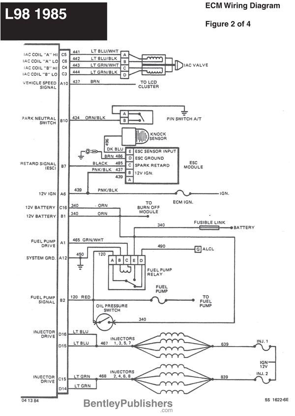 Nsd 360 Hsi Wiring Diagram Wiring Diagram L98 Engine 1985 1991 Gfcv Tech Bentley