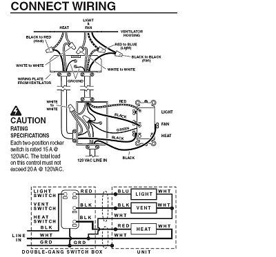 bathroom light fan wiring diagram wiring diagram view wiring diagram for broan exhaust fan light