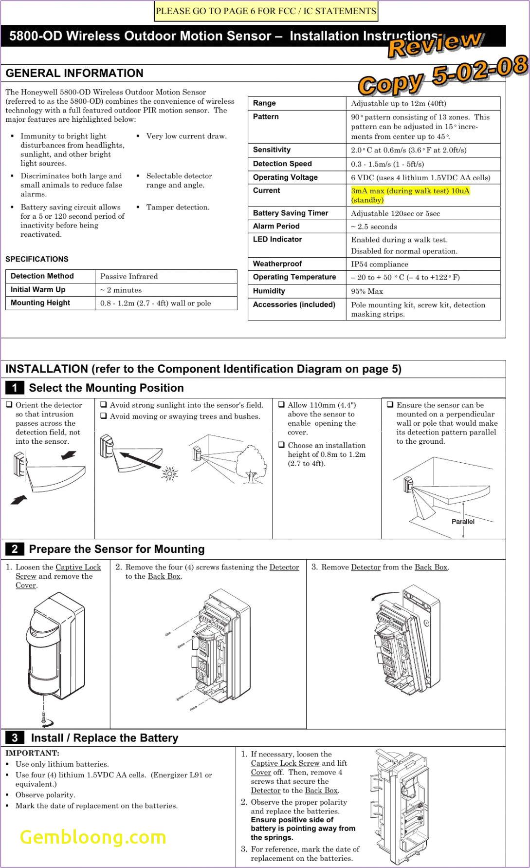 Occupancy Sensor Power Pack Wiring Diagram Wiring Diagram to Eliminate Battery Save Wiring Diagram Option