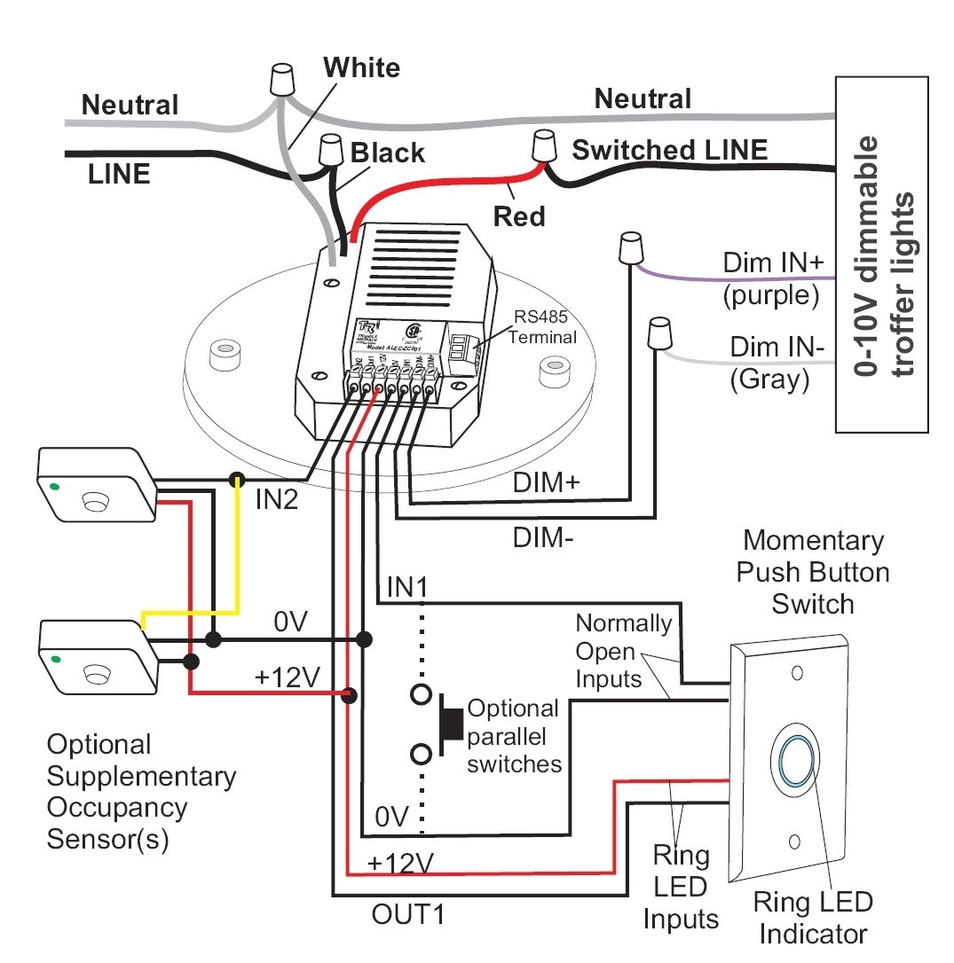 Occupancy Sensor Wiring Diagram 3 Way Watt Stopper Relay Control Panel Wiring Diagrams Wiring Diagram Local