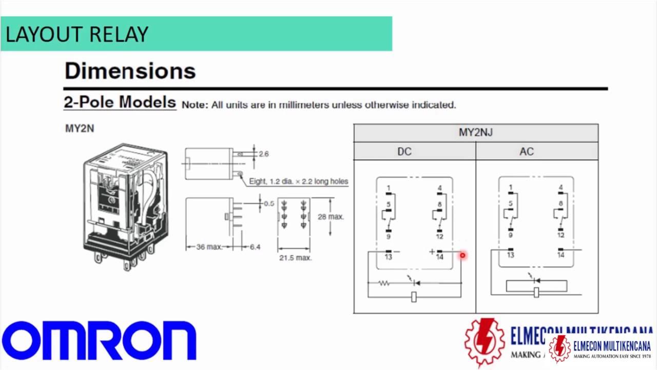 tutorial relay omron youtubetutorial relay omron