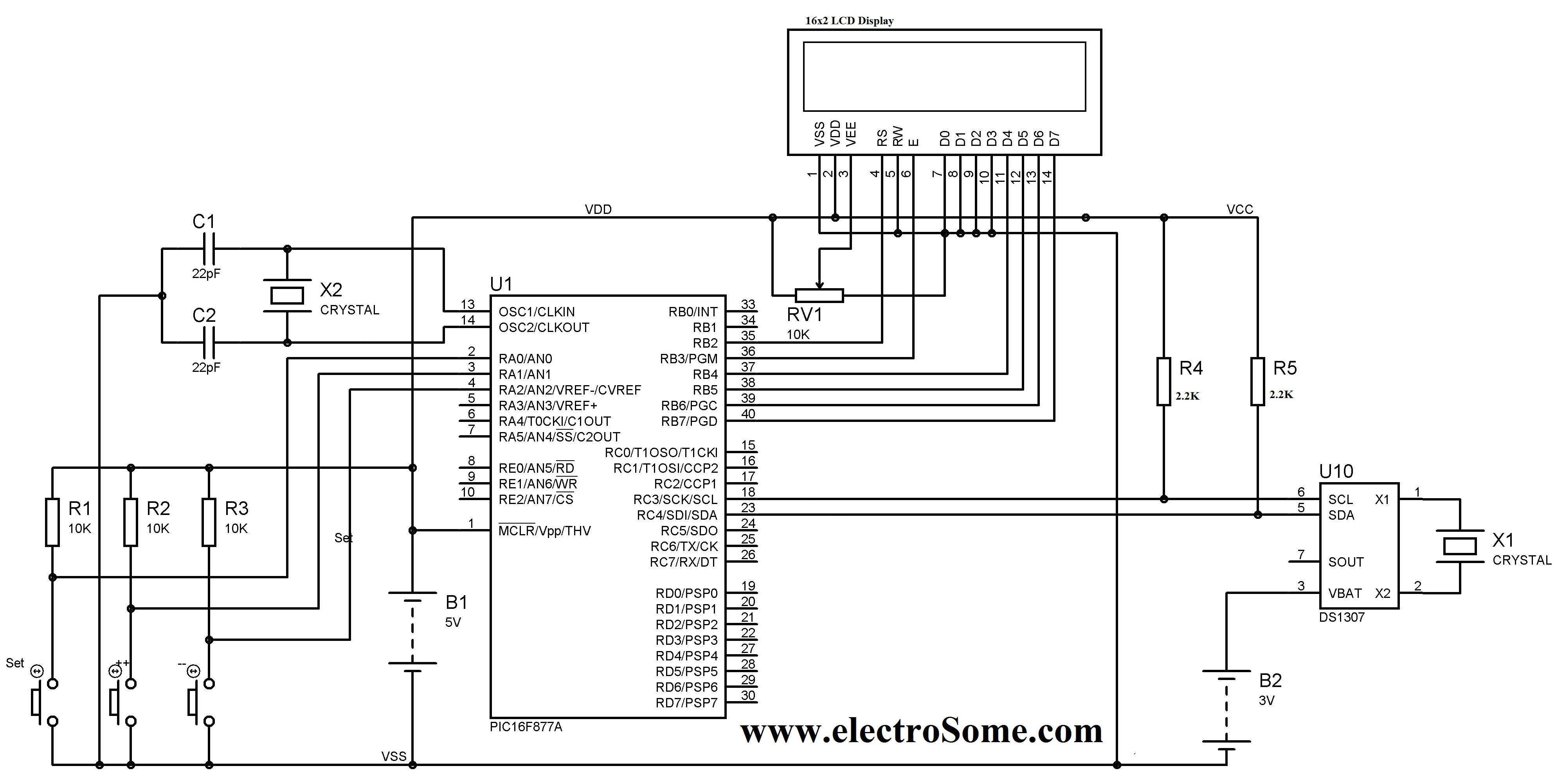 gun further digital clock circuit diagram on digital clock schematic clock circuit page 7 meter counter