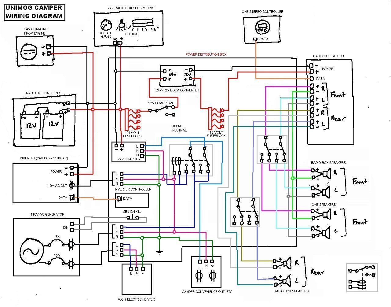 camper trailer ke wiring diagrams simple electronic circuits