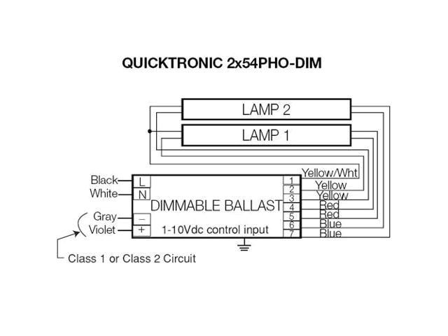 sylvania ballast wiring diagram wiring diagram centre osram sylvania 54w 277v t5 quicktronic series ballast newegg