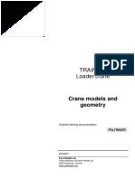 crane models and geometry
