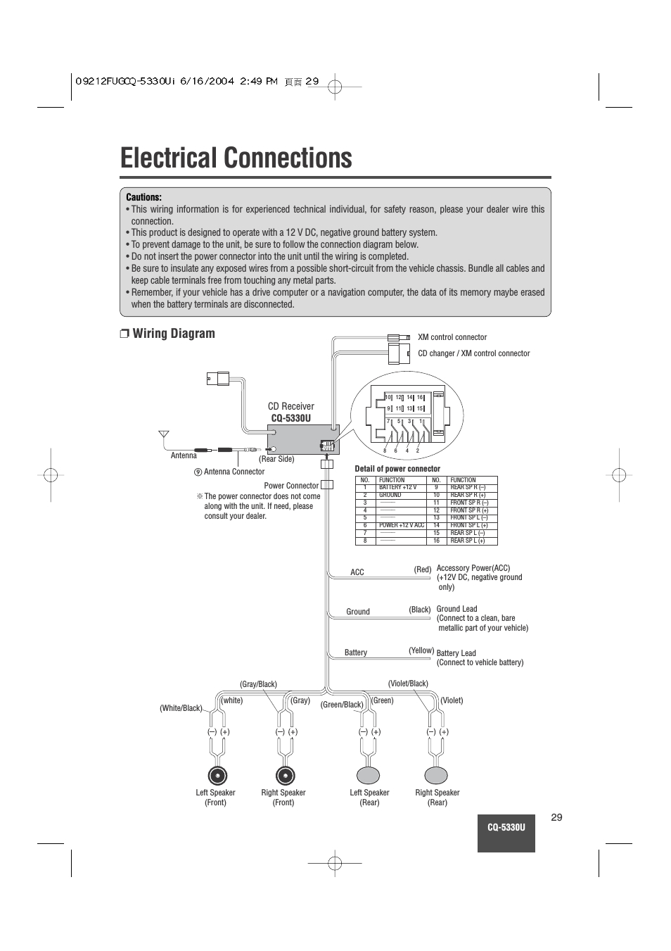 wrg 6981 panasonic cq c1101u wiring diagram on panasonic cq vd6503u power cable