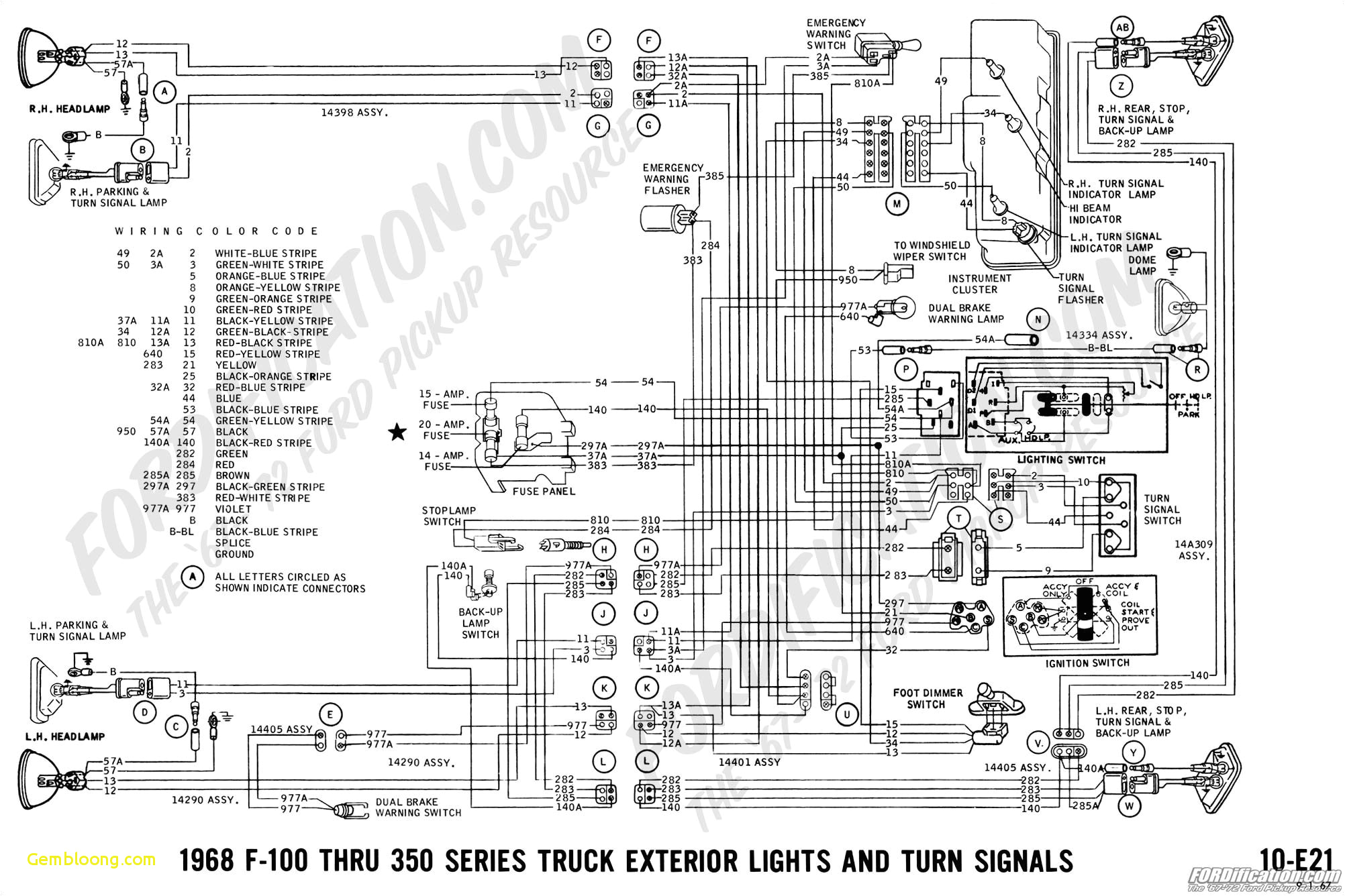 10 ford trucks wiring diagrams free