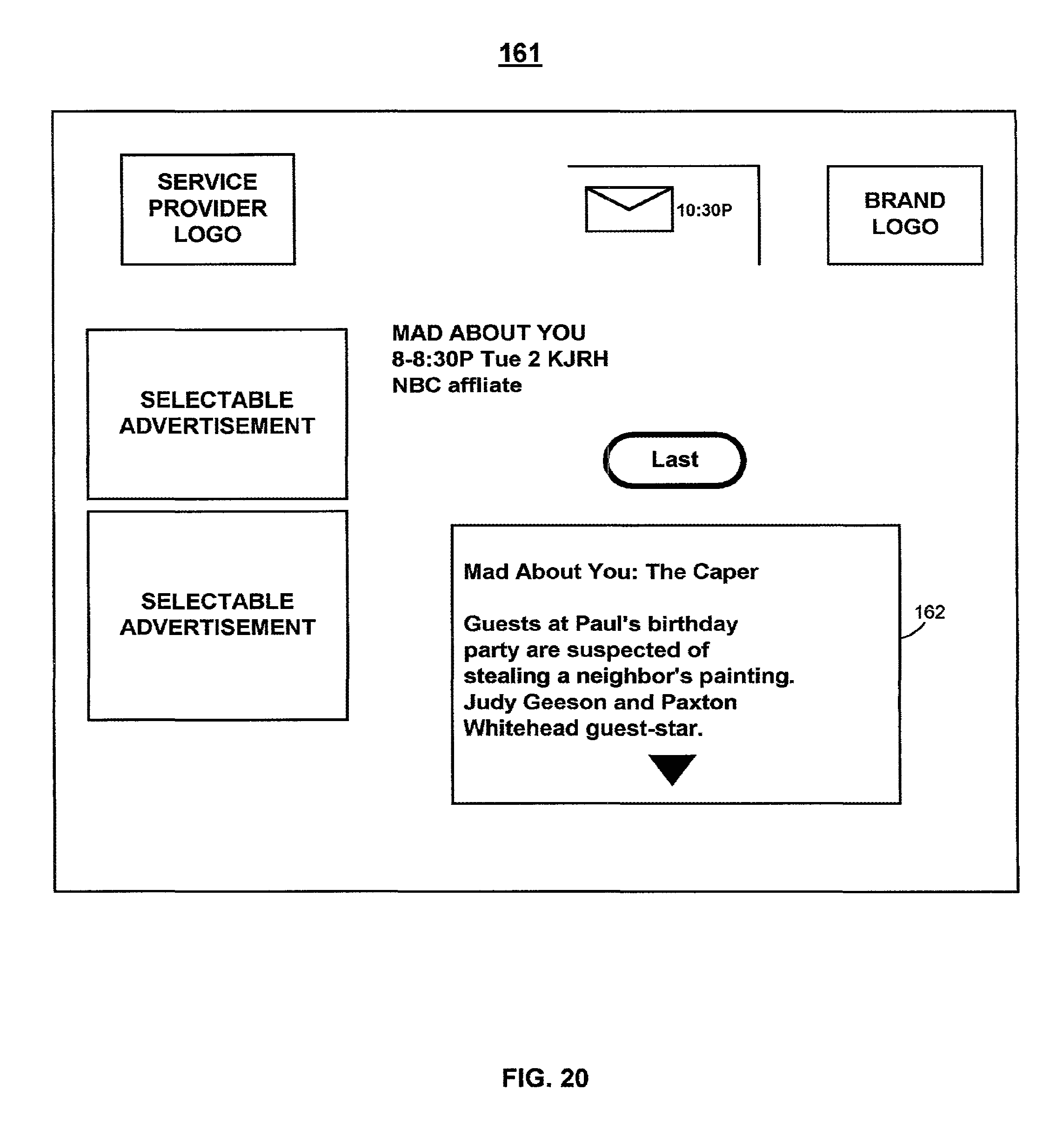 us9055318b2 client server based interactive guide with server storage google patents