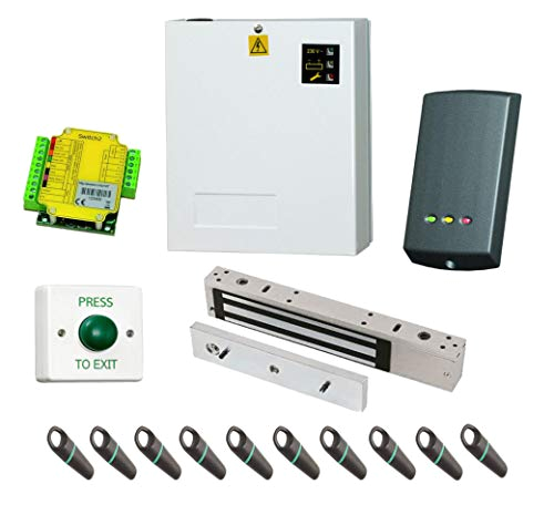 supply fit paxton switch 2 access control kit w 10 proximity fobs psu maglock