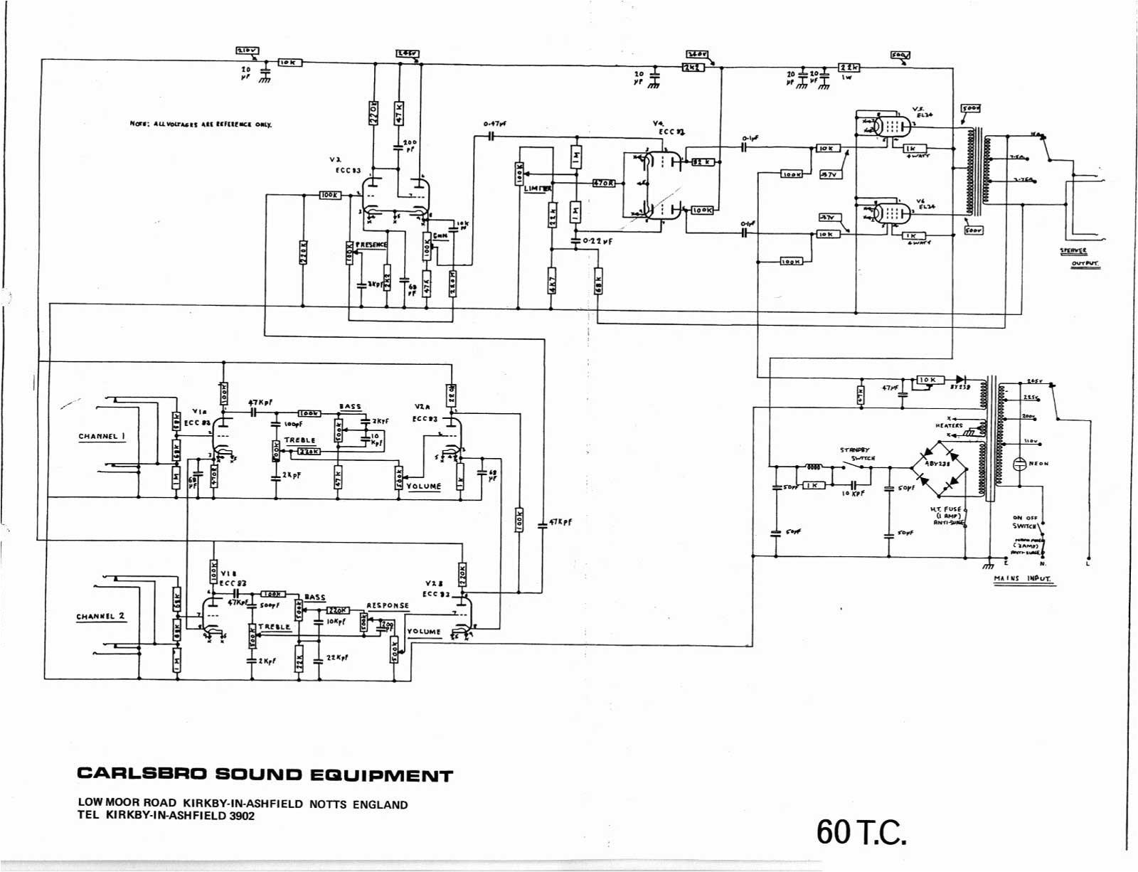 Peavey T 60 Wiring Diagram Peavey Horizon Ii Wiring Diagram My Wiring Diagram