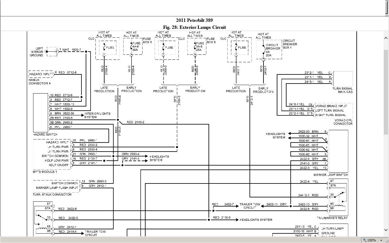 Peterbilt Radio Wiring Diagram Free Wiring Diagram for Peterbilt 389 Fan Switch Free About Wiring