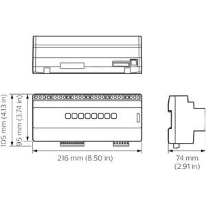 ddmc802 v2 dynalite basismodule