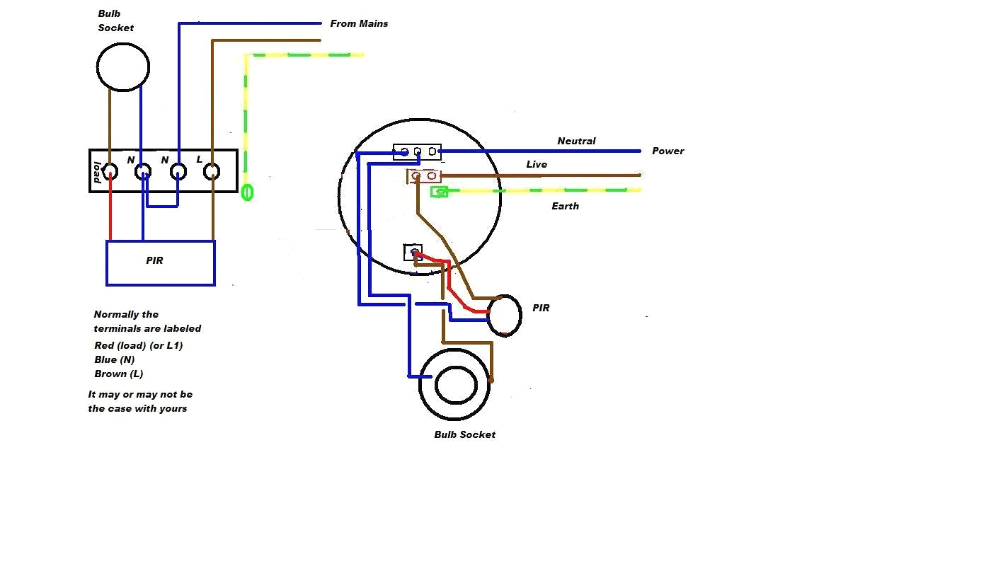 motion sensor light switch wiring diagram webtor me for in outdoor jpg