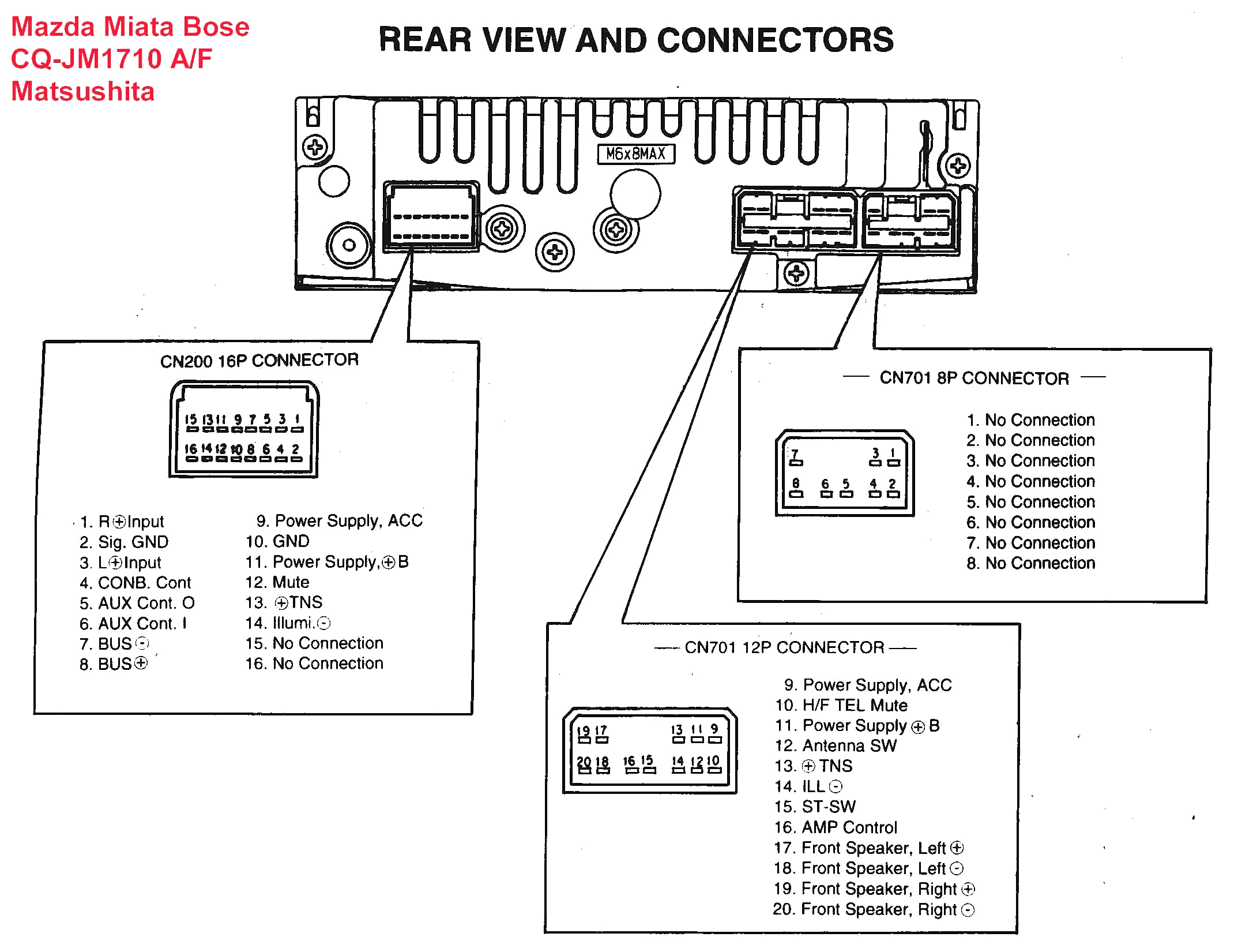 pioneer wire diagram