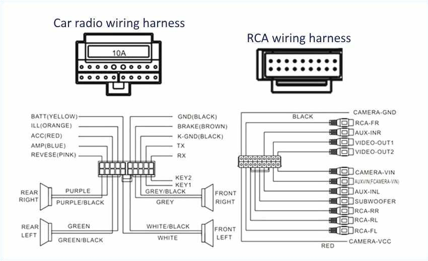 Pioneer Deh-245 Wiring Diagram Wiring Diagram Pioneer Deh 14ub Further Avic Pioneer Wiring Harness