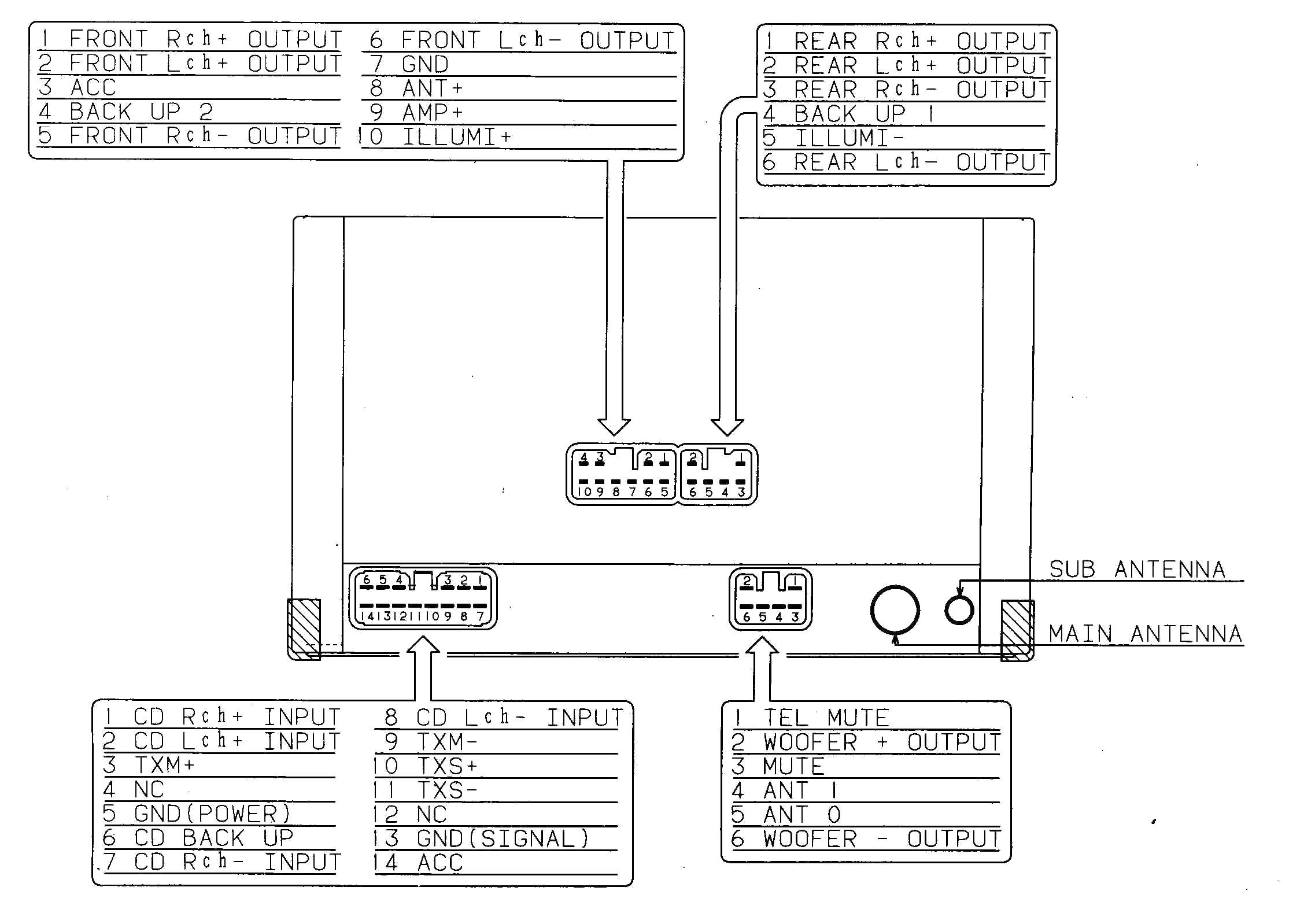 pioneer deh p6000ub wiring diagram elegant pioneer deh p4200ub wiring diagram floralfrocks and arcnx jpg