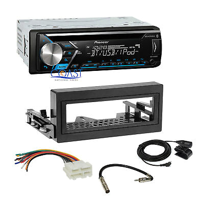 pioneer car stereo mp3 bluetooth dash kit harness for 1995 gmc chevy cadillac
