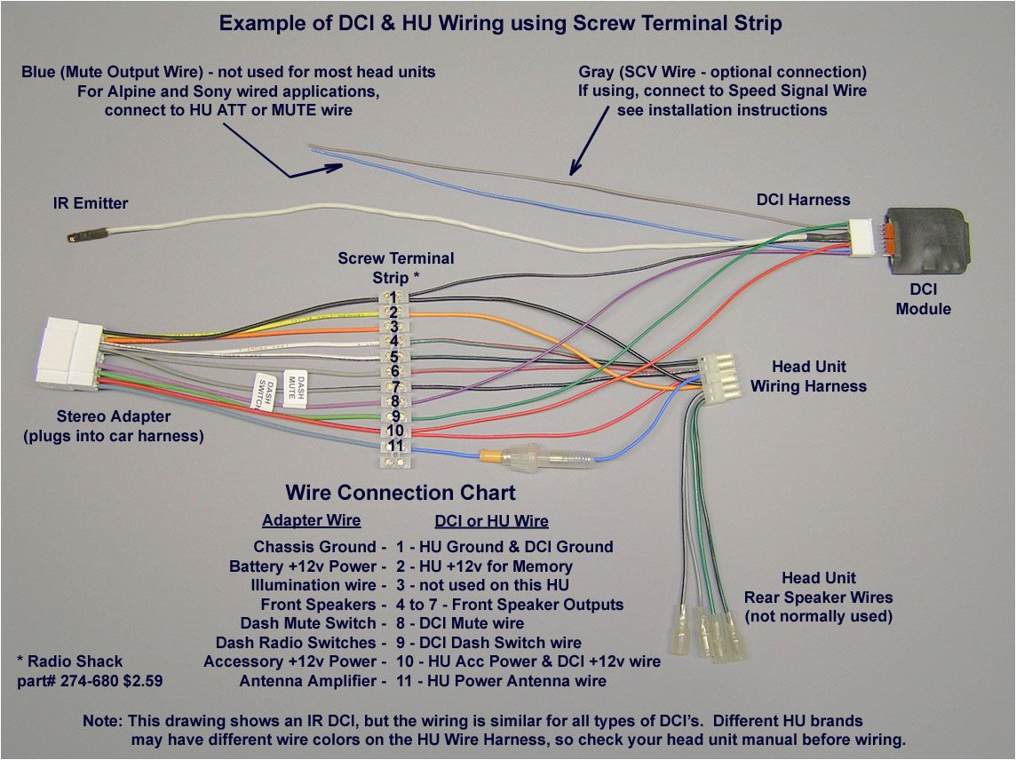 pioneer car stereo wiring harnessiagram mechanics corner sony for chevy tahoe free jpg