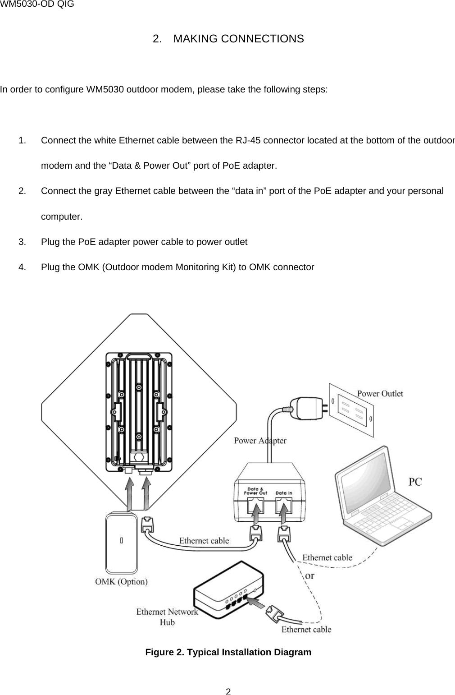 page 4 of wm5030od wimax outdoor modem user manual wm5030 od qig v1 3