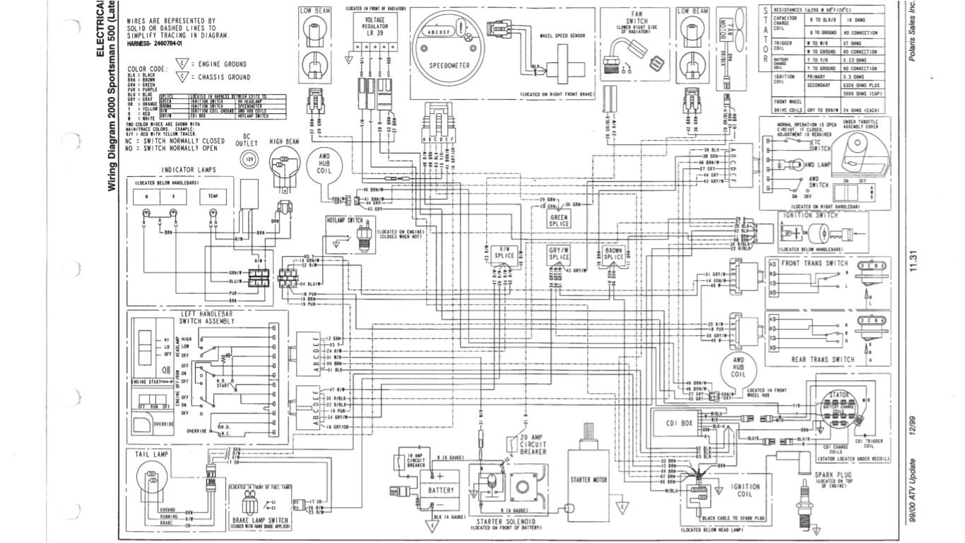 polaris 500 wiring diagram wiring diagram insidepolaris 500 wiring diagram