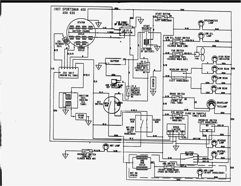 outlaw 500 wiring diagram wiring diagram wiring diagram 2004 polaris predator 500 lzk gallery