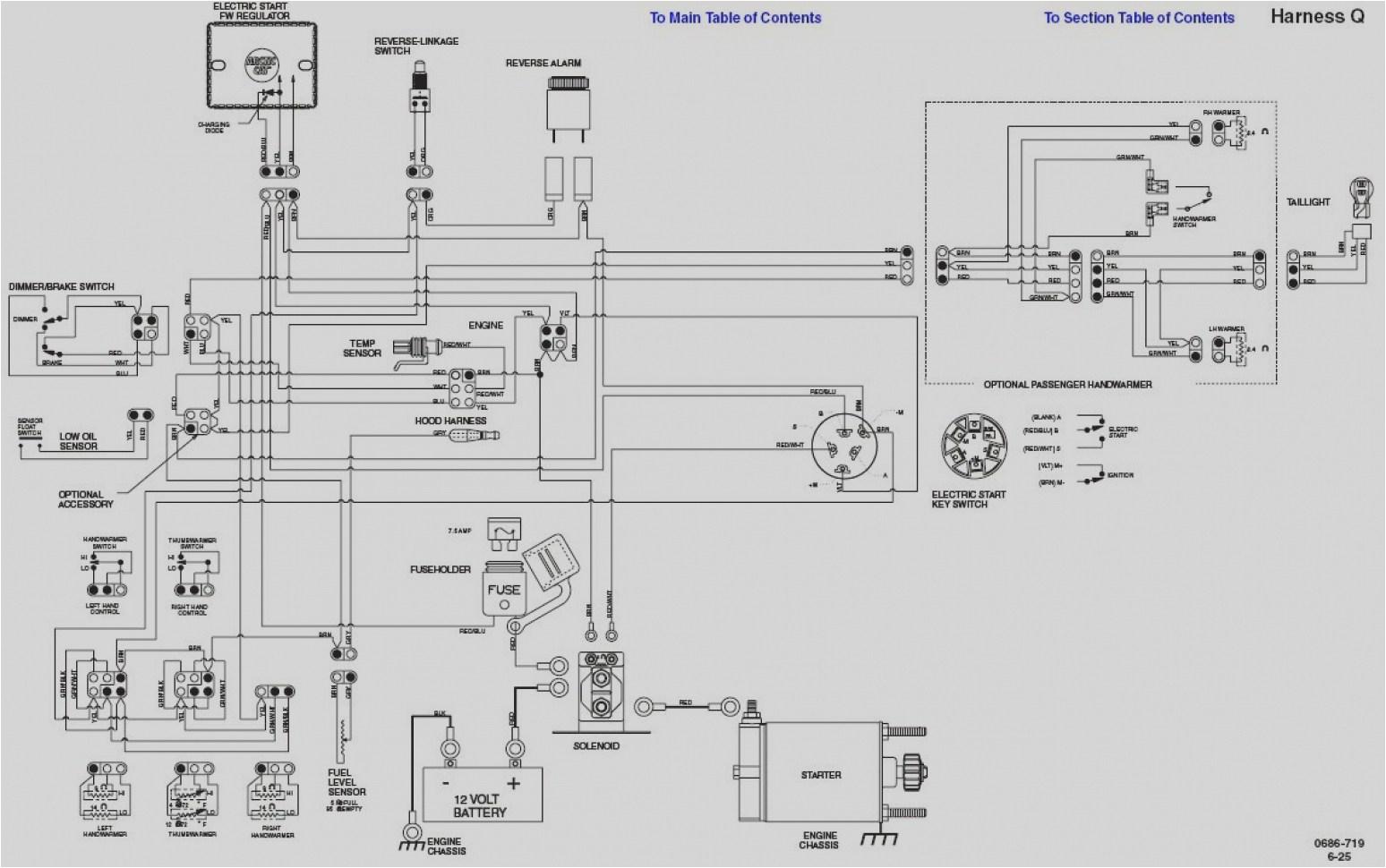 polaris ranger wiring diagram