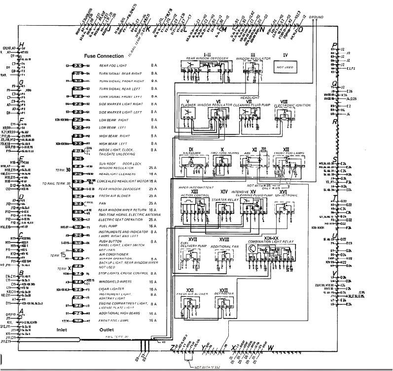 1983 porsche 944 fuse box wiring diagram mega