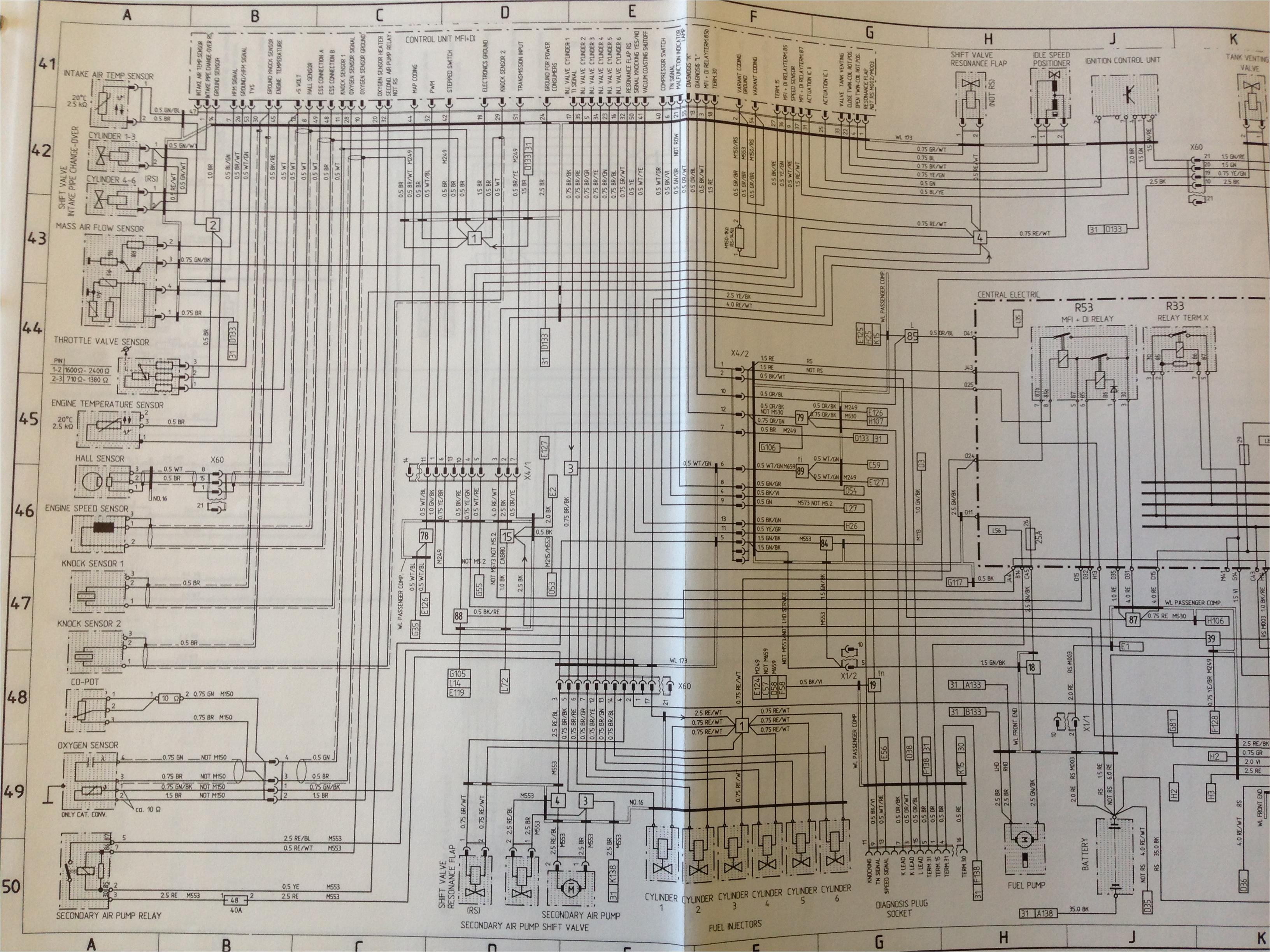 wiring diagram rennlist porsche discussion forums wiring diagram porsche 993 gt2 porsche 993 wiring diagram