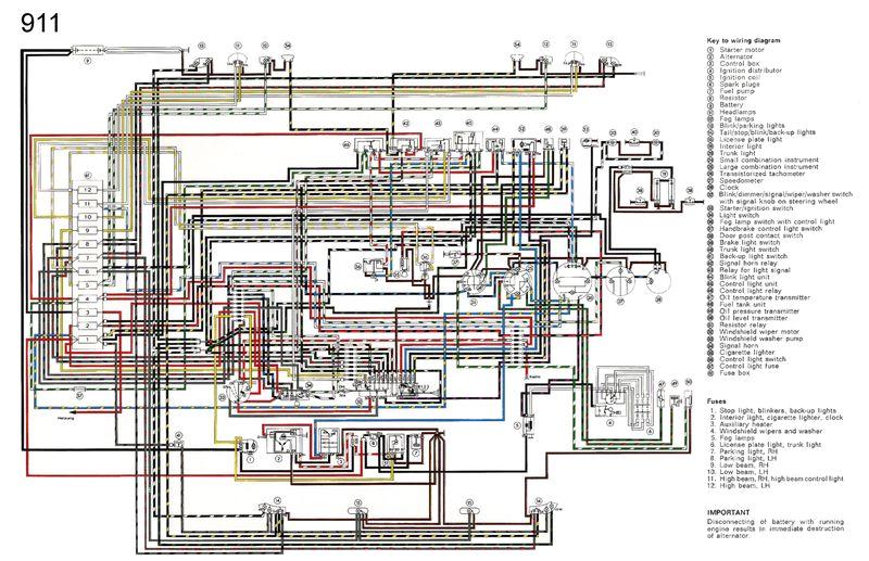 porsche 911 wiring diagram 1976 wiring diagram showporsche electrical wiring diagrams wiring diagram name porsche 911