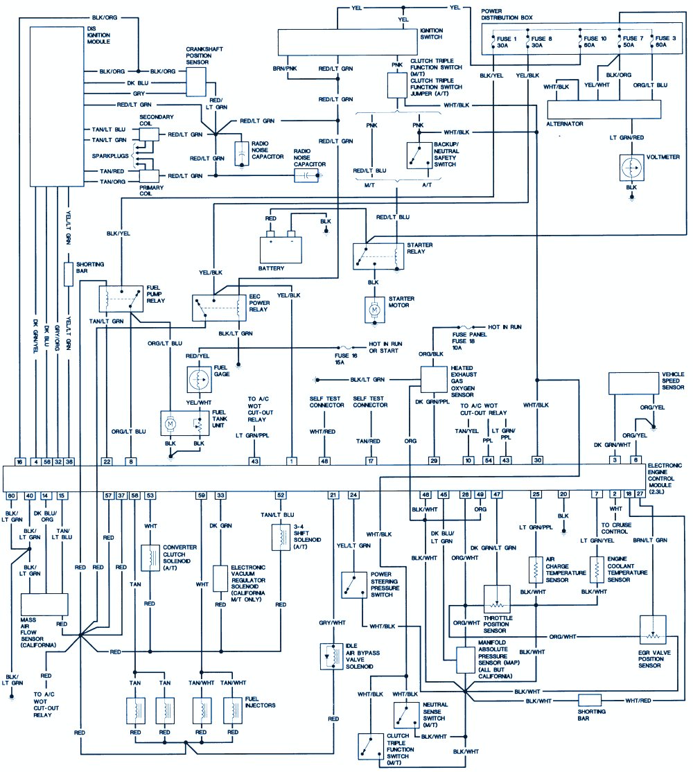 spanish wiring diagrams