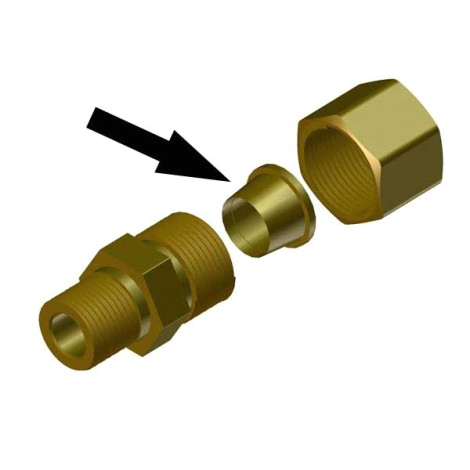 ferrule for 5 16 compression fitting
