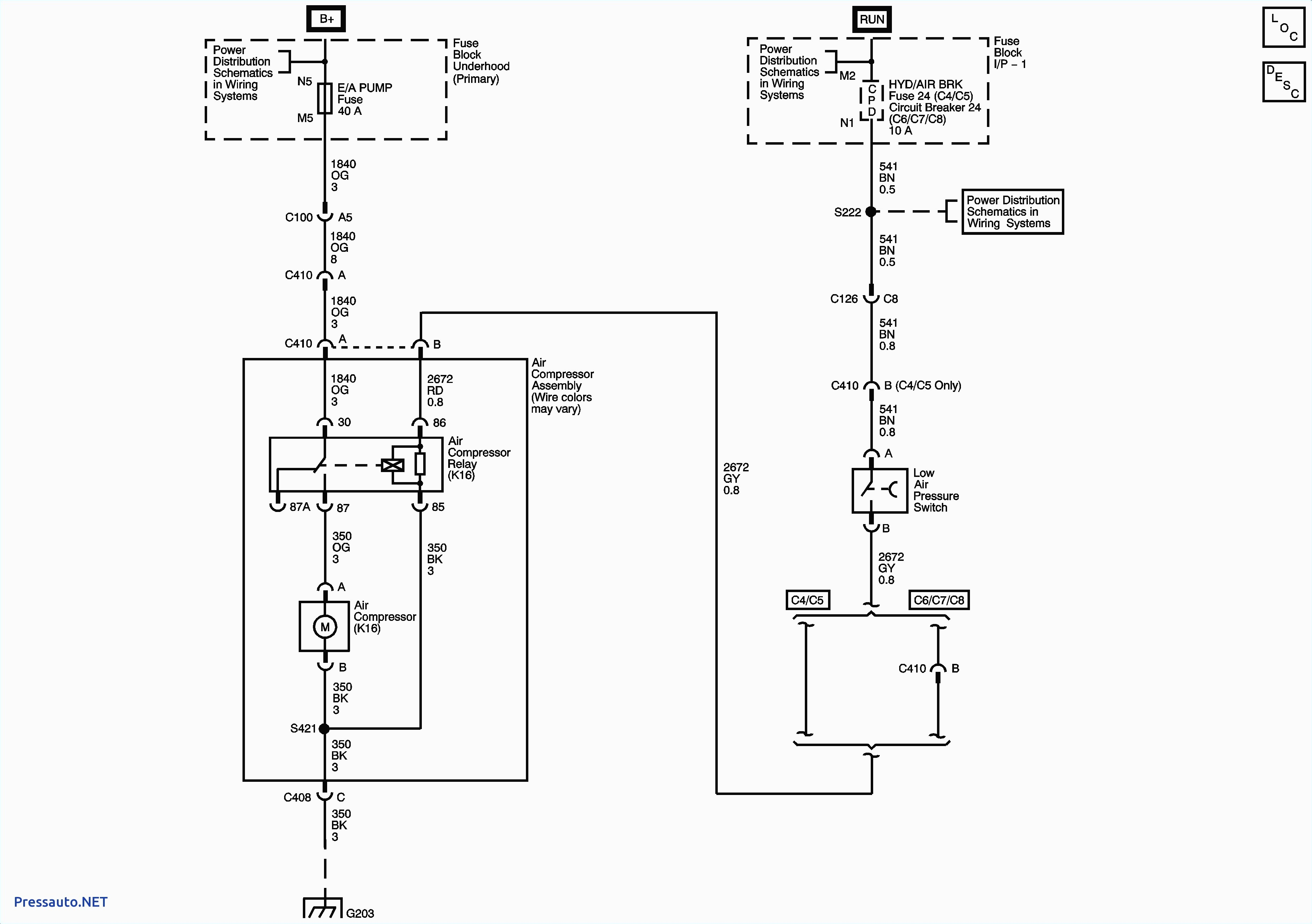 condor pressure switch wiring diagram wiring diagram database toyota a c pressor wiring diagram