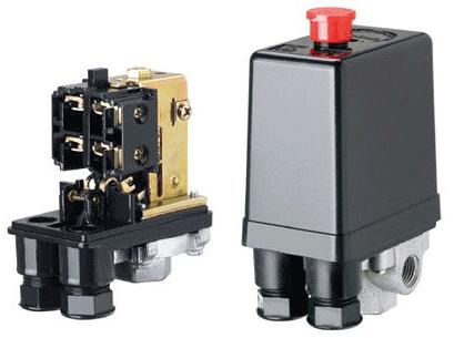 inside an air compressor pressure switch