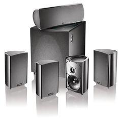 definitive technology procinema 600 5 1 speaker system set of six black by definitive