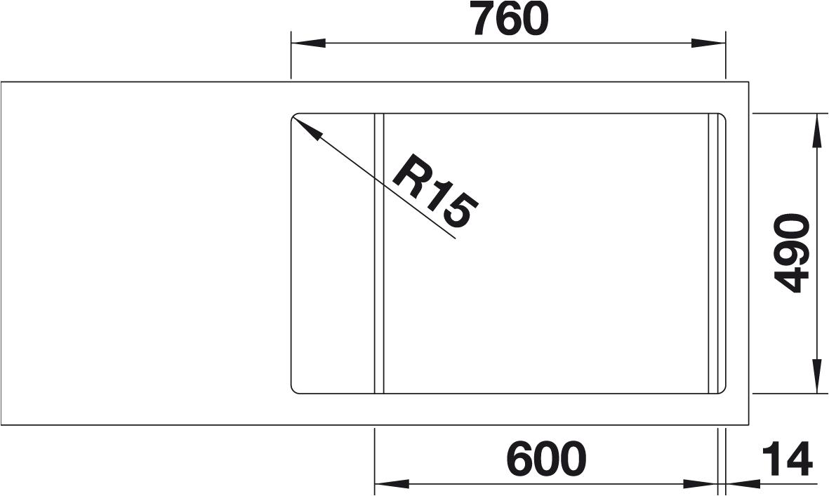 Procinema 600 Wiring Diagram Radio Hondl Co Blanco Zenar Xl 6 S Compact 521534 Silgranit