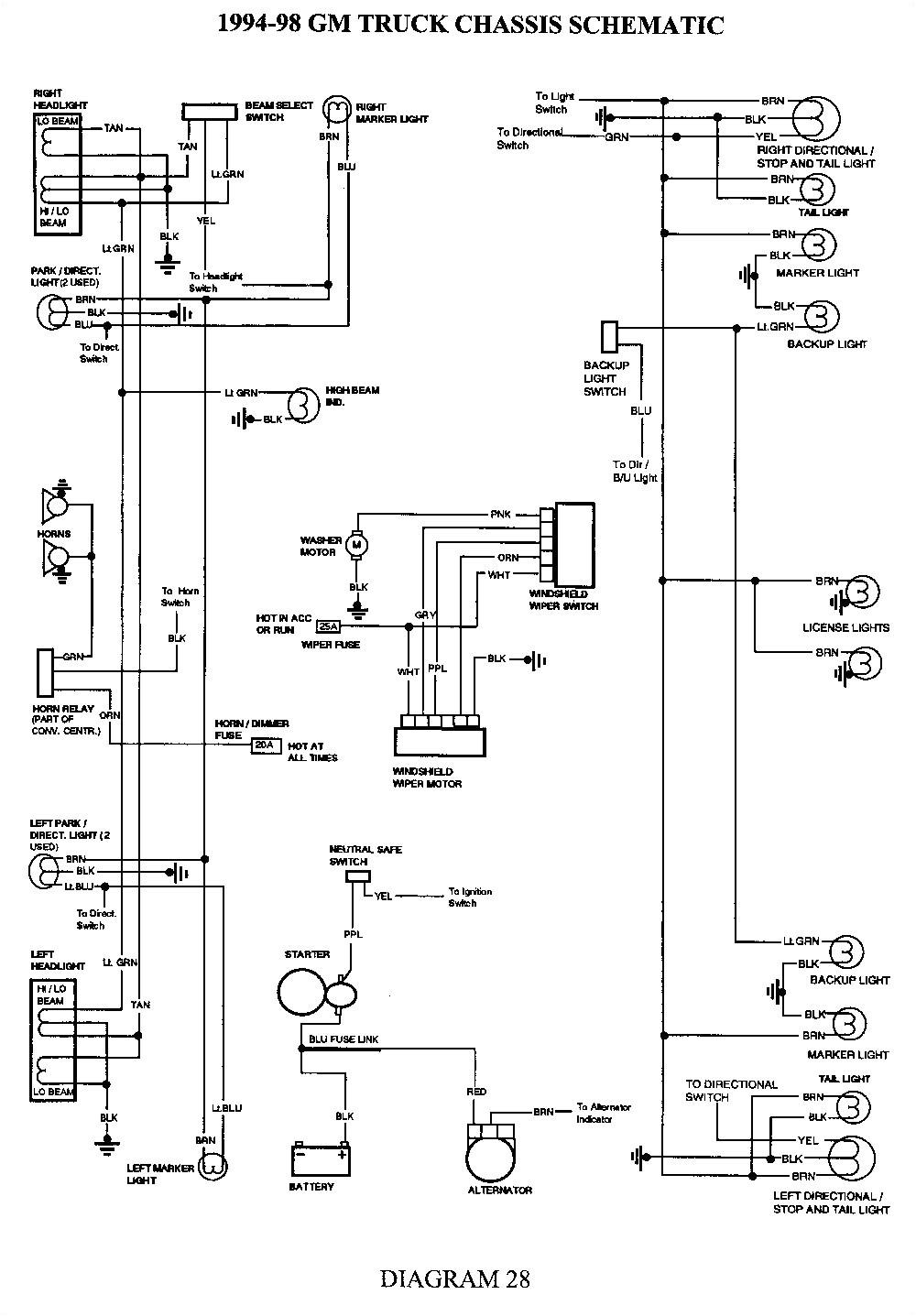 98 chevy truck wiring diagram wiring diagram show 98 chevy 1500 windshield wiper wiring diagram free