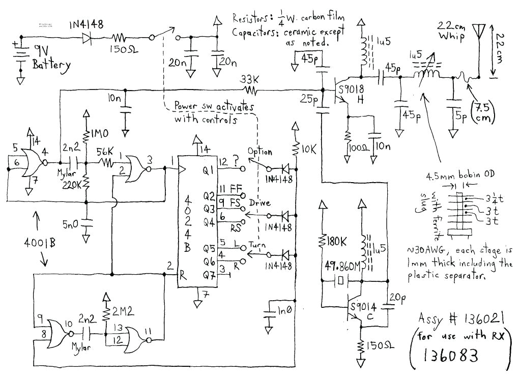 electric rc car wiring diagram jada rc car wiring diagram wiring