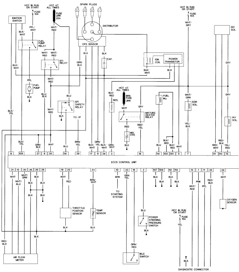 repair guides wiring diagrams wiring diagrams autozone com 88 nissan maxima radio wiring diagram 88 nissan sentra wiring diagram