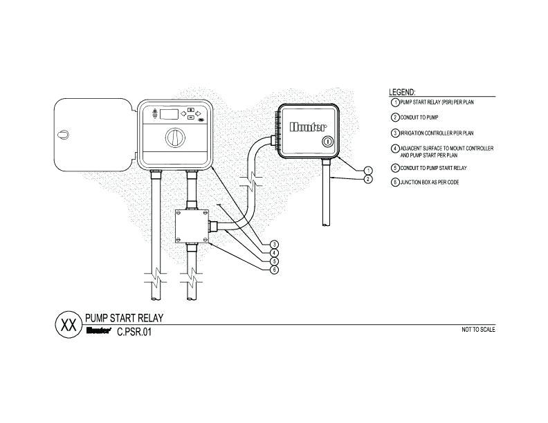 cad pump start relay wiring